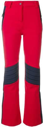 Rossignol x Tommy Hilfiger high-waist panelled trousers