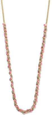 Chain Cord Necklace