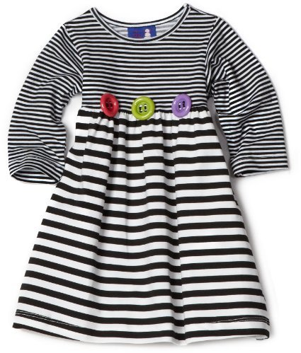 Flap Happy Baby-Girls Infant Stripe Tee Dress