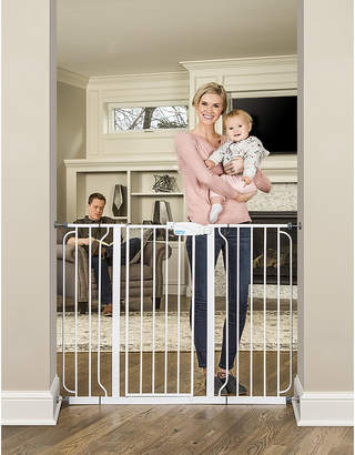 Regalo Extra Tall Wide Span Metal Walk-Through Gate