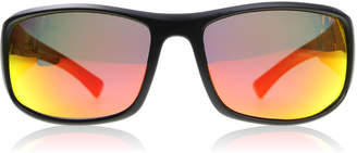 Dirty Dog Muzzle Sunglasses Satin Black ARMPOL Polariserade 64mm