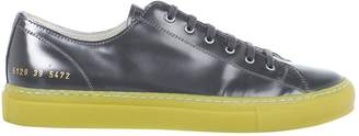 Common Projects Grey Patent leather Trainers