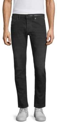 Diesel Black Gold DBG Side Stripe Slim-Fit Jeans