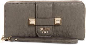 GUESS Talan Large Zip-Around Wallet