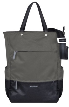 Sherpani Camden Convertible Backpack - Grey $98 thestylecure.com