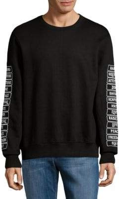 Eleven Paris Graphic Crewneck Sweater
