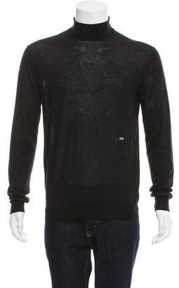 Calvin Klein Logo-Embroidered Turtleneck Sweater