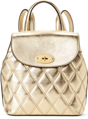 Mulberry Gold Mini Bayswater Backpack