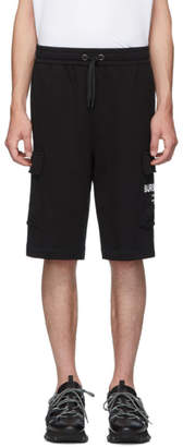 Burberry Black Logo Ailford Shorts