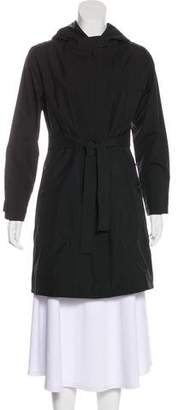 Patagonia Knee-Length Hooded Coat