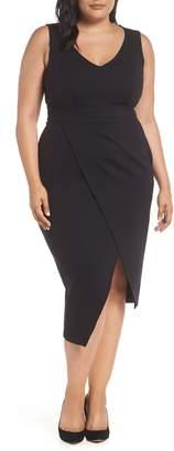 Marina Rinaldi ASHLEY GRAHAM X Oceanino Body-Con Dress