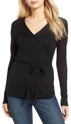 Women's Hinge Wrap Cardigan $69 thestylecure.com