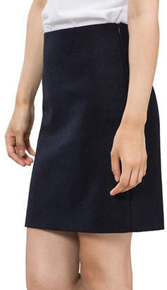 agnès b. Erin Wool Pencil Skirt