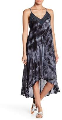 Love Stitch Tie Dye V-Neck Dress