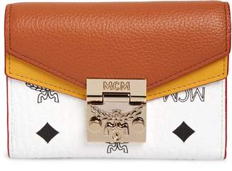 MCM Patricia Colorblock Leather Wallet