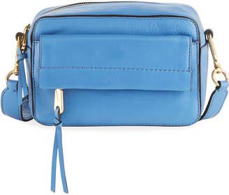 Cole Haan Kathlyn Leather Camera Crossbody Bag, Blue