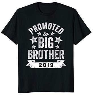 Promoted To Big Brother 2019 T-Shirt New Big Brother Shirt
