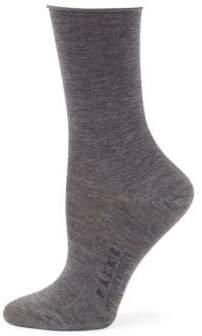 Falke Solid Logo Dress Socks