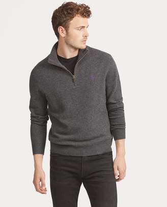 Ralph Lauren Merino Wool Half-Zip Sweater