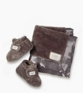 UGG Bixbee Bootie and Lovey Blanket