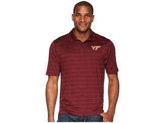 Champion College Virginia Tech Hokies Textured Solid Polo Men's Short Sleeve Pullover