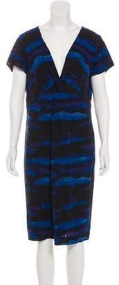 Tory Burch Silk Printed Dress w/ Tags
