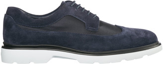 Hogan Classic Suede Lace Up Laced Formal Shoes Derby