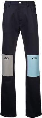 Raf Simons LSD XTC straight jeans