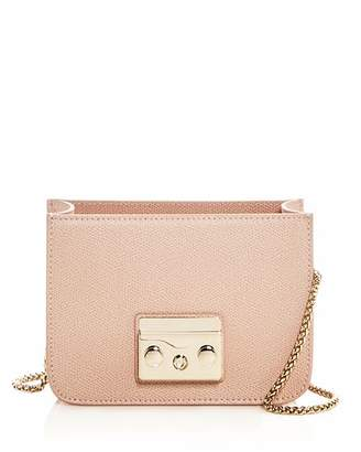 Furla MY PLAY Interchangeable Metropolis Mini Leather Crossbody Body