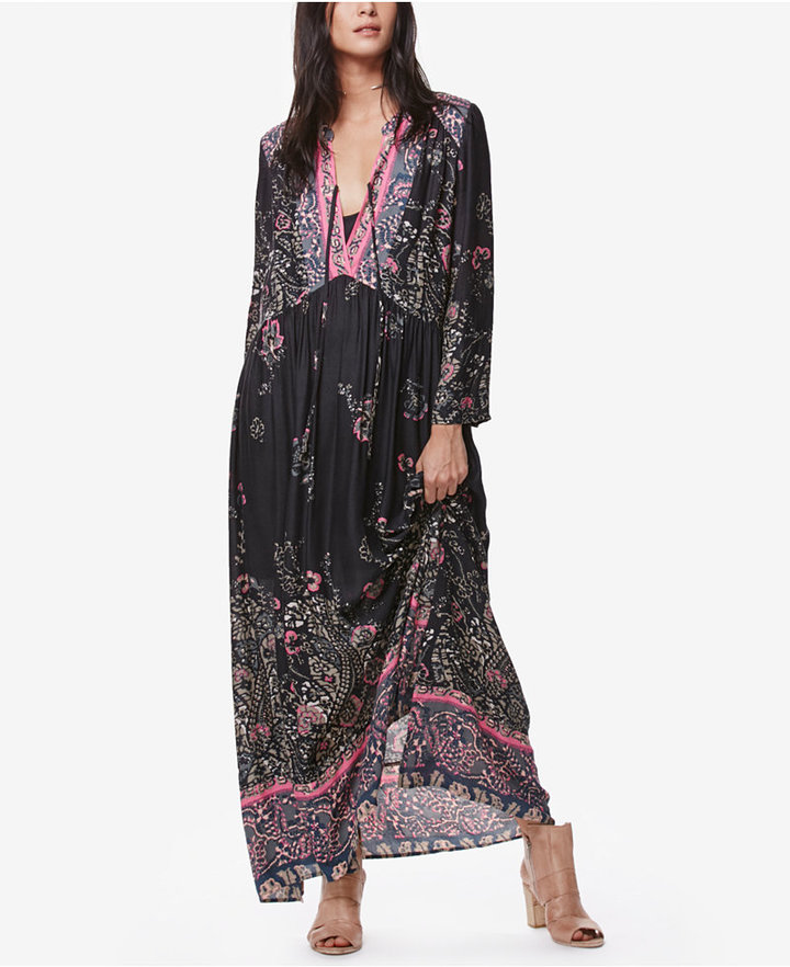 Free People If You Only Knew Printed Maxi Dress