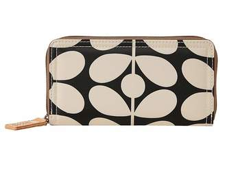 Orla Kiely Sixties Stem Nylon Big Zip Wallet