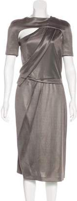 Todd Lynn Asymmetrical Midi Dress