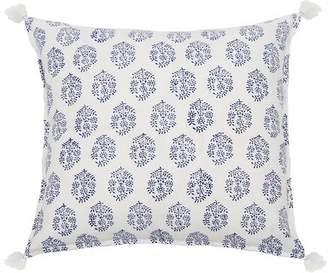 Pom Pom at Home Fena Cotton Throw Pillow