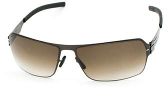 Ic! Berlin Sunglasses Ic!Berlin Jesse gun metal brown 100% Authentic new