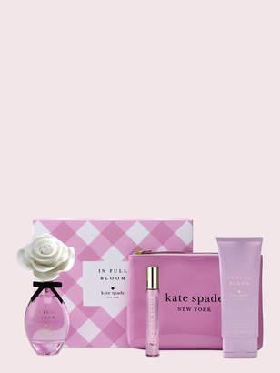 Kate Spade in full bloom 4-piece spring set