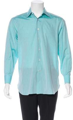 Stefano Ricci Striped Button-Up Shirt