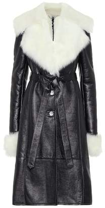 Magda Butrym Hudson leather coat
