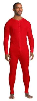 Hanes Men's X-Temp Thermal Waffle Unionsuit with FreshIQ