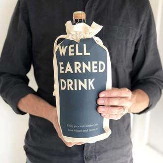 Modo creative Personalised Retirement Bottle Bag