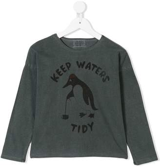 Bobo Choses penguin sweatshirt