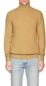 Loro Piana Men's Cashmere Turtleneck Sweater-Yellow