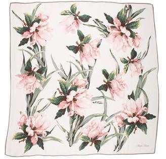 Ralph Lauren Silk Floral Scarf