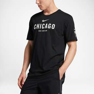 Nike Dri-FIT Run Club (Chicago) Men's T-Shirt