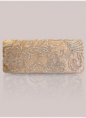 IGIGI Winona Clutch in Gold