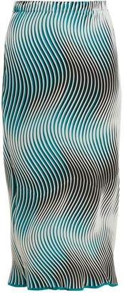 Issey Miyake Flow Cosmic wave-pleated skirt