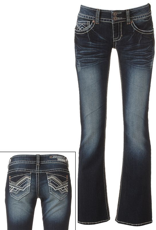 Hydraulic bootcut jeans