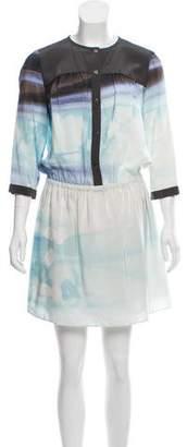 Diane von Furstenberg Marielle Silk Shirtdress w/ Tags