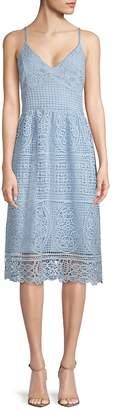 ABS by Allen Schwartz Women's Lace Day Dress