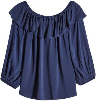 Velvet Ibby Off-Shoulder Blouse