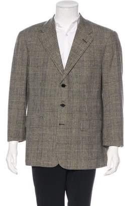 Ralph Lauren Purple Label Philip Plaid Wool Sport Coat